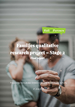 Families Qualitative Research Project 2018