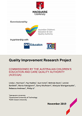 Quality improvement research project