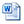 icon for a word document