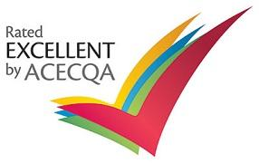 The 'Rated Excellent by ACECQA' Logo