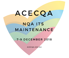 NQA ITS maintenance ACECQA logo
