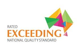 Exceeding National Quality Standard logo