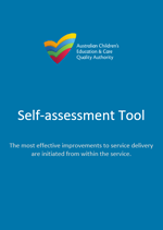 Self-assessment Tool cover with ACECQA Logo