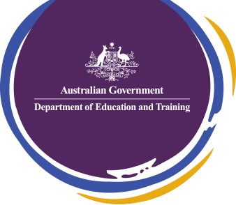 logo Australian gov department of training