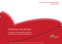 Family Day Care Educator Compliance responsibilities