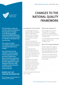 Changes to the NQF - summary of all decisions